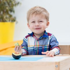 Dietitian Tips to Help Your Kids Gain Weight, from Holley Grainger