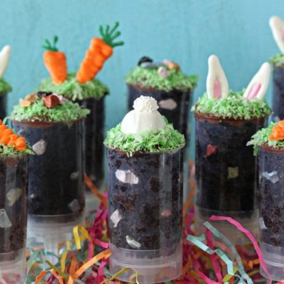 Easter Cake Push Pops