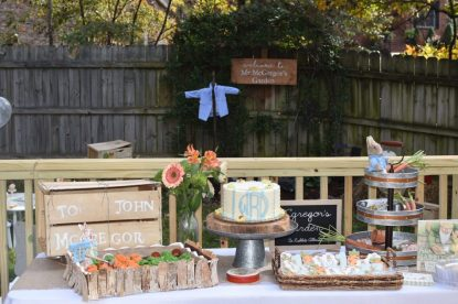Host a Peter Rabbit Birthday Party