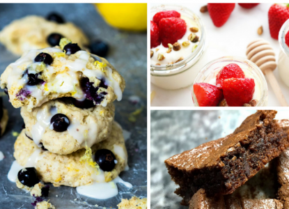 Ask Mom to peruse these recipes, choose her favorites then sit back and enjoy a decadent Mother's Day dessert that can be whipped up in no time!